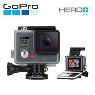 GoPro HERO+LCD 運動攝影機-入門升級版 CHDHB-101-CT (非HERO6 Black HERO5、sony)