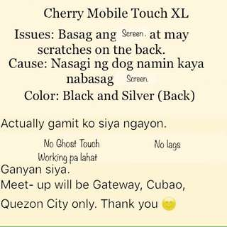 Cherry Mobile Touch XL