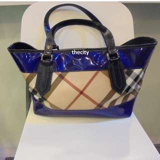 AUTHENTIC BURBERRY NOVA PERSPEX LARGE TOTE