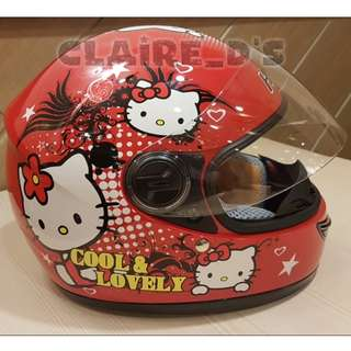 Kids' Hello Kitty Motorcycle Helmet