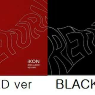 (Fast eta 1 wk) IKON RETURN ALBUM