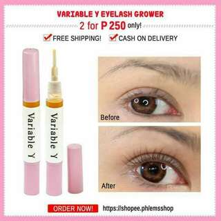 variable eyelash serum