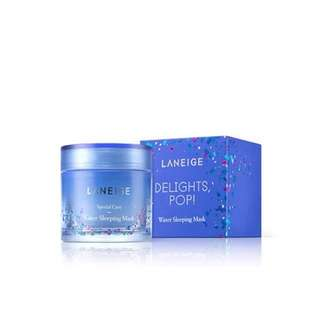 Laneige Water Sleeping Mask Delights Pop! Limited Edition