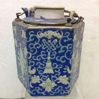 Porcelain-暖酒壼(見图3⃣️有损)