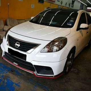 Grab & Uber Nissan Almera Auto 2014