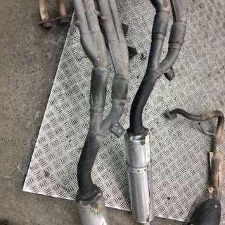 Honda cb400 vtec exhaust system