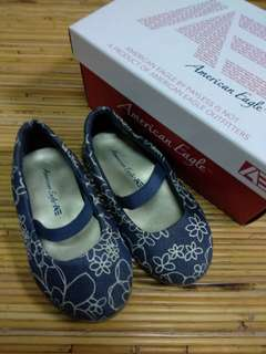 American Eagle Shoes Sepatu Pantofel Anak Blue Denim