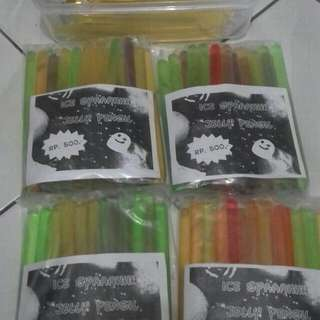 Jelly Pensil Aneka Rasa