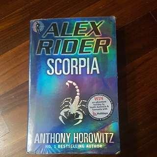 Alex rider scorpia anothony horowitz