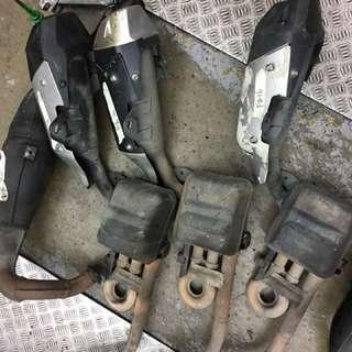 Yamaha fz16 exhaust
