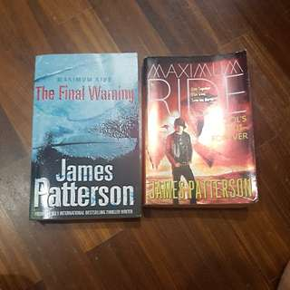 Maximum ride james patterson the final warning and schools out forever