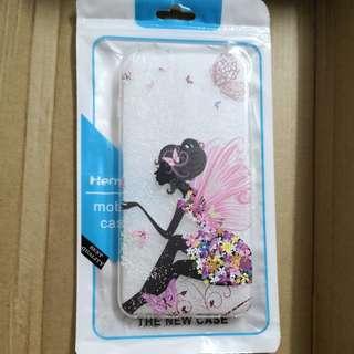 IPhone 6s Plus 軟膠 透明 彩繪 蝴蝶 仙子 保護殼 mobile case