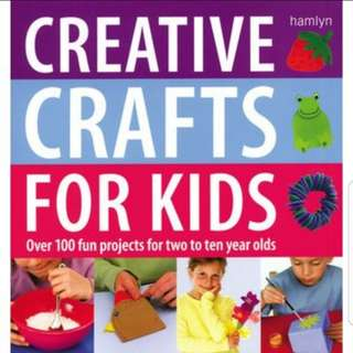 Creative Crafts For Kids Book
