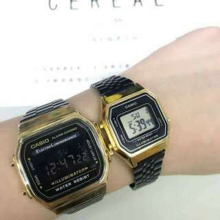ON SALE: Casio Vintage Gold with Black strap