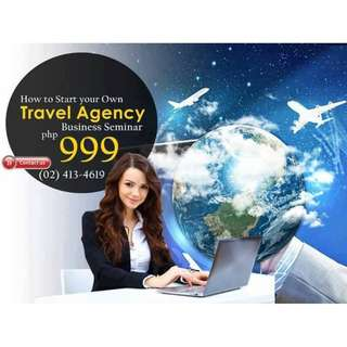 SEMINAR ON HOW TO START A TRAVEL AGENCY BUSINESS