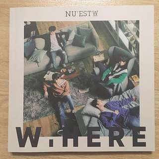 Nu'est W nuest where you at 專輯 浄專