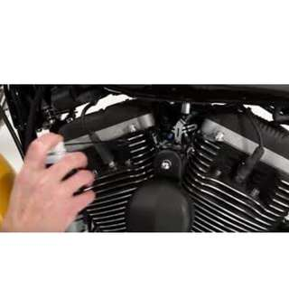 MOTORBIKE ENGINE SPRAY - MATTE BLACK