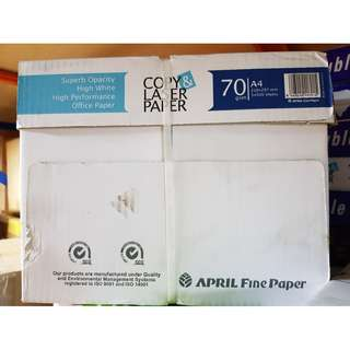 April fine A4 size papers