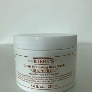Kiehl s grapefruit body scrub