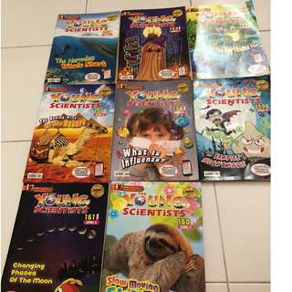 Young Scientist level 2 8 assorted Books