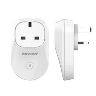 Orvibo S20 Smart Wi-Fi Wall Mounted Socket UK Plug (White)