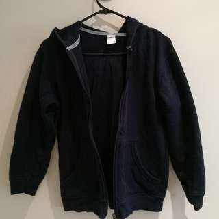 Navy Blue Jacket with Hood