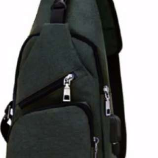 Carboni Waistbag 2 in 1 AA00023 Ransel Tali Satu Bisa Untuk Tali Dua Original - Grey