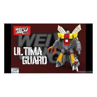 Preorder for Weijiang Ultima Guard (aka Omega Supreme), Price=S$186, ETA=Feb/Mar 2018