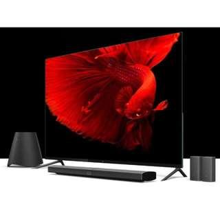 "65"" Xiaomi TV 4 Series,Ultra Slim Frameless Metal Design,Home Theater Recommend"