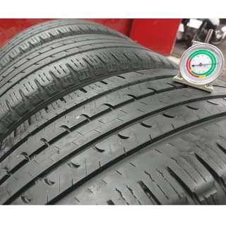 235/55/18 固特異 2015年份 EFG 非原廠配車噪音胎 胎深近6mm 8.5成新四條一組 無變形無跳花 含定位安裝完工價
