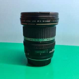 Canon EF-S 10-22mm f3.5-4.5 USM (公司貨)二手- 贈原廠摭光罩