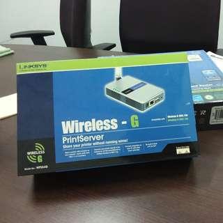 Linksys Print Server Wireless-G