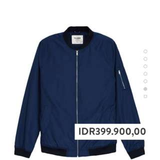 Pull n Bear Lightweight bomber jacket