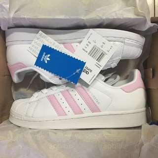 adidas 三葉草愛迪達貝殼頭女鞋休閒運動鞋板鞋