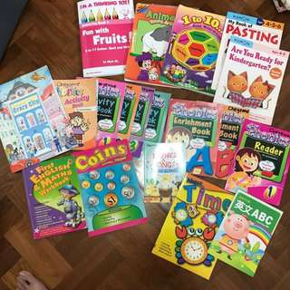 Children's phonics / assessments / colouring / coloring / pasting books