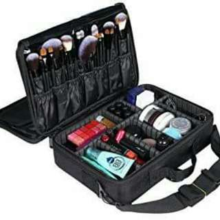 Make up bag storage compartment