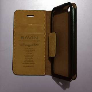 Bavin leather iPhone 5/5s case