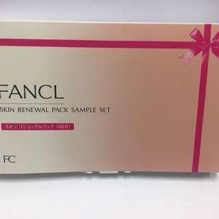 Fancl renewal pack sample set 3回量