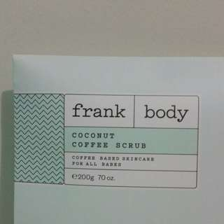 Frank Body Coconut Coffee Scrub