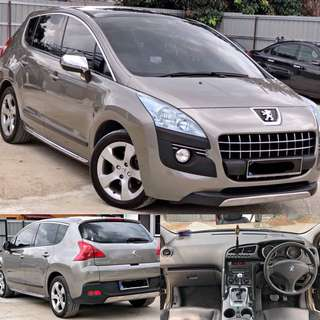 SAMBUNG BAYAR / CONTINUE LOAN  PEUGEOT 3008 SUV 1.6 TURBO