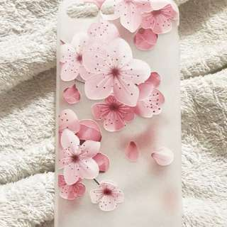 Soft TPU Case 3D Cherry Blossom only for iPhone 8 Plus