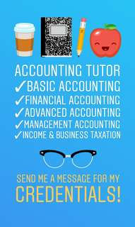 Accounting Tutorials