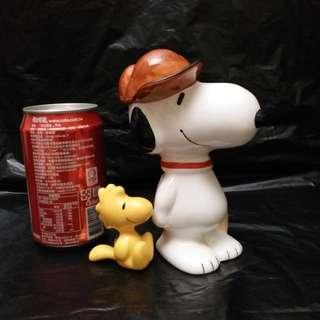 Snoopy  陶瓷 錢箱