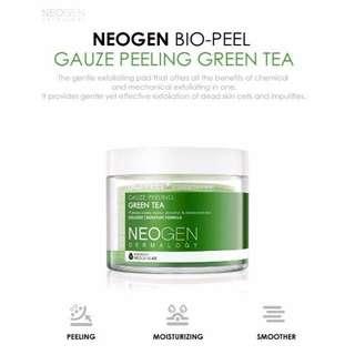 Neogen Bio Gauze Peeling Exfoliation Pads
