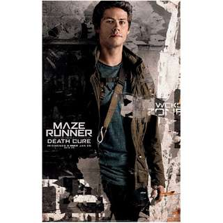 Maze runner the death cure solo A large poster version