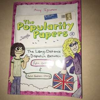 The Popularity Papers (book 2)
