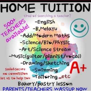 Home tuition 🏡