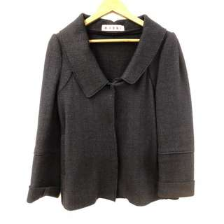 Marni navy dark blue jacket size 42