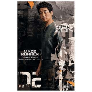 Maze runner the death cure solo B large poster version