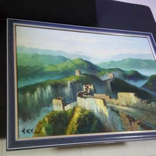 Oil Painting 88cm/68cm